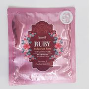 Гидрогелевая маска Koelf Ruby & Bulgarian Rose Hydrogel Mask Pack